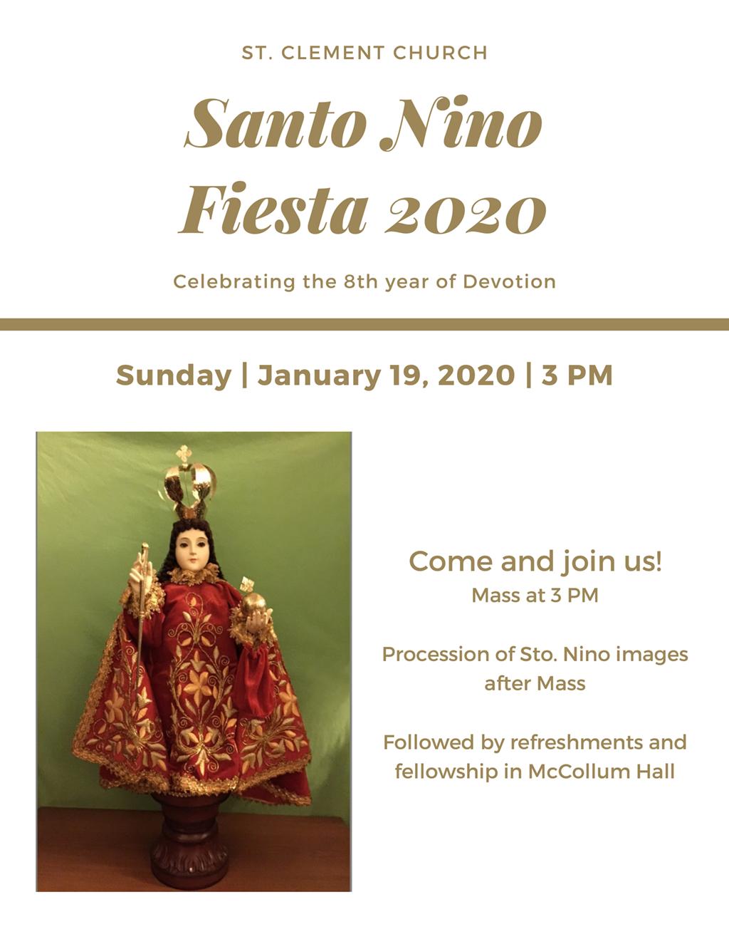 Santo Nino Flyer
