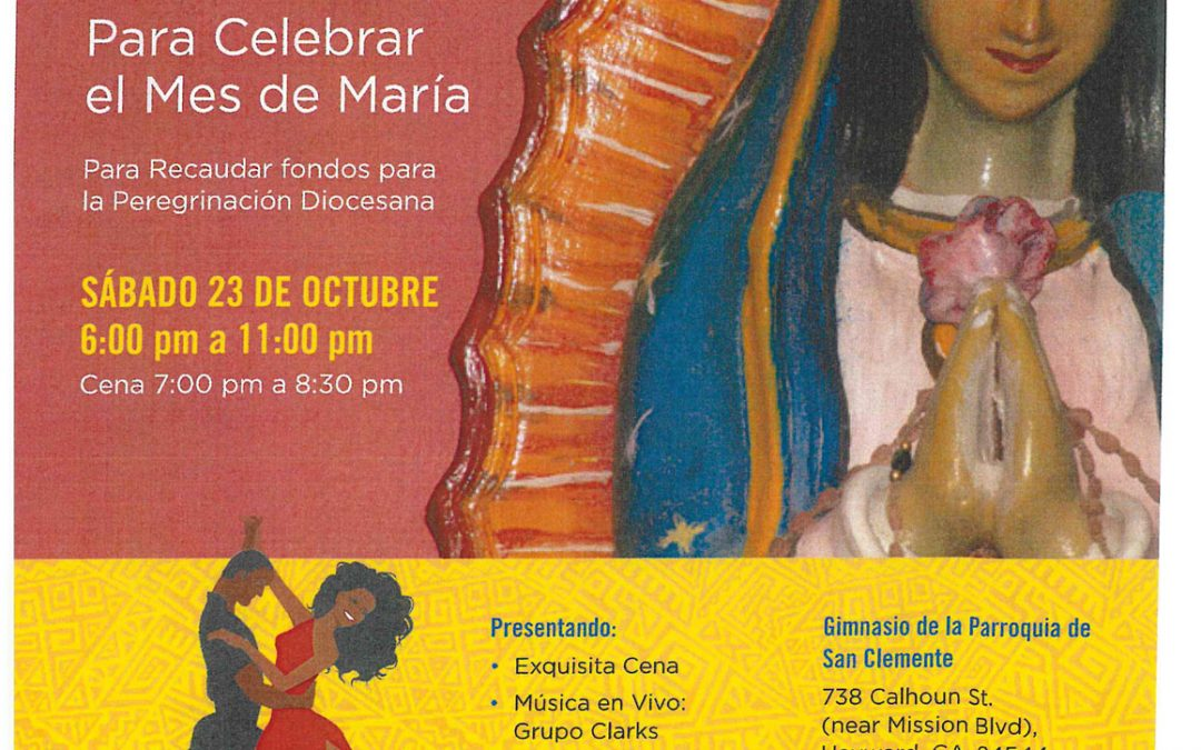 Latino Ministries Diocese of Oakland | Te Invitamos a Cena Baile